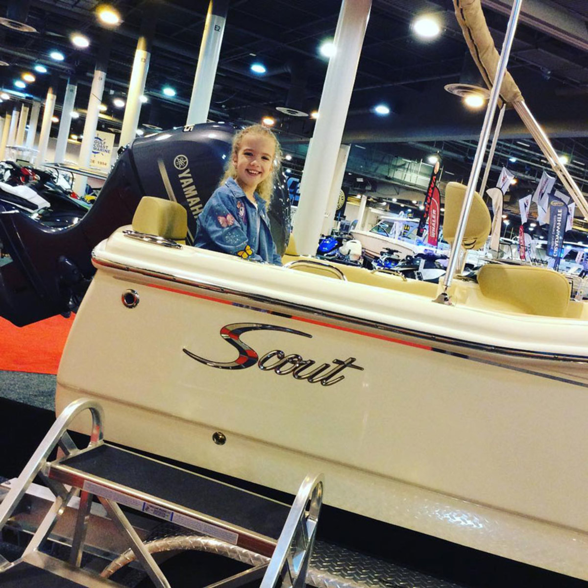 Scout Boats is among the builders with models on display at the Houston International Boat, Sport and Travel Show.
