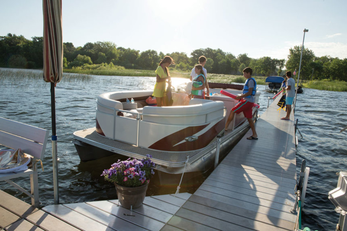 A tax increase on aluminum sheet could affect the prices of pontoons and aluminum fishing boats.