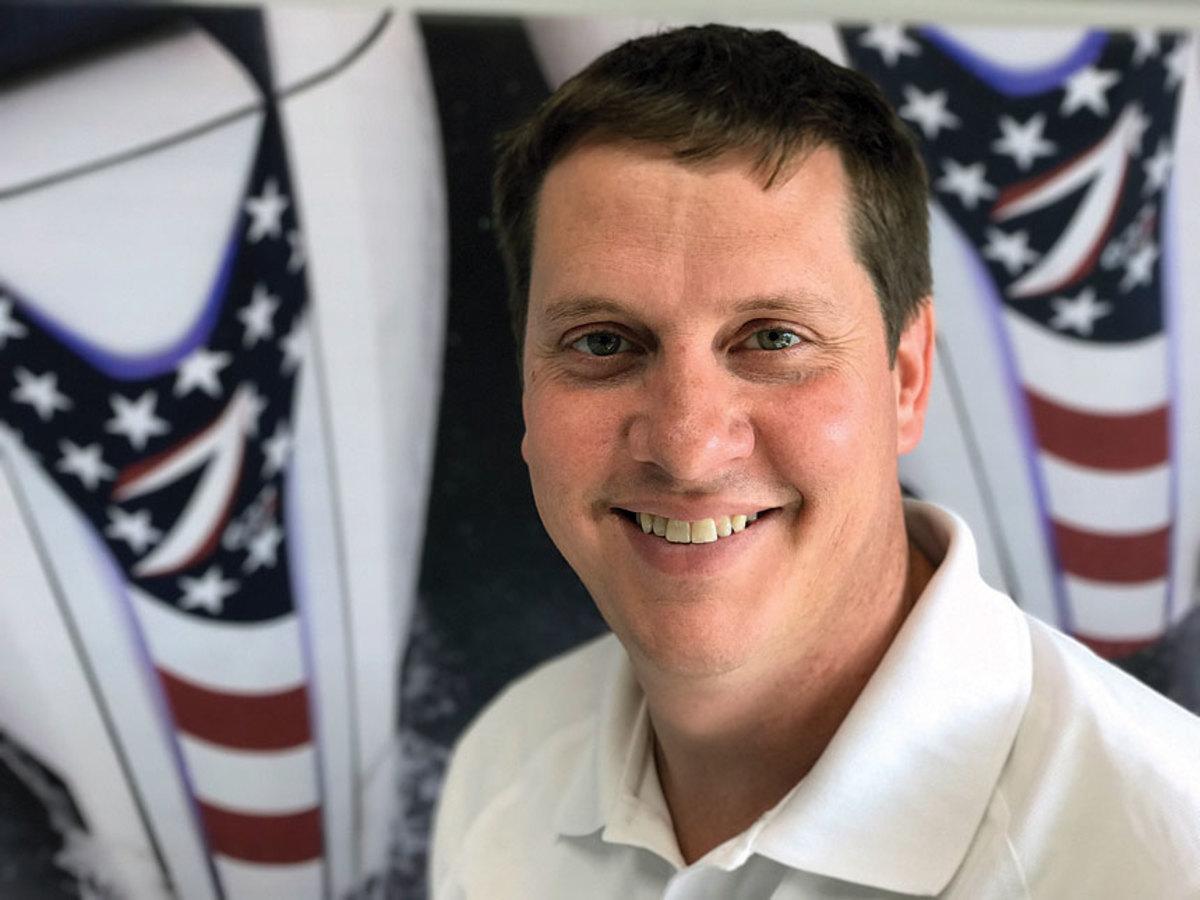 Seven Marine vice president Brian Davis