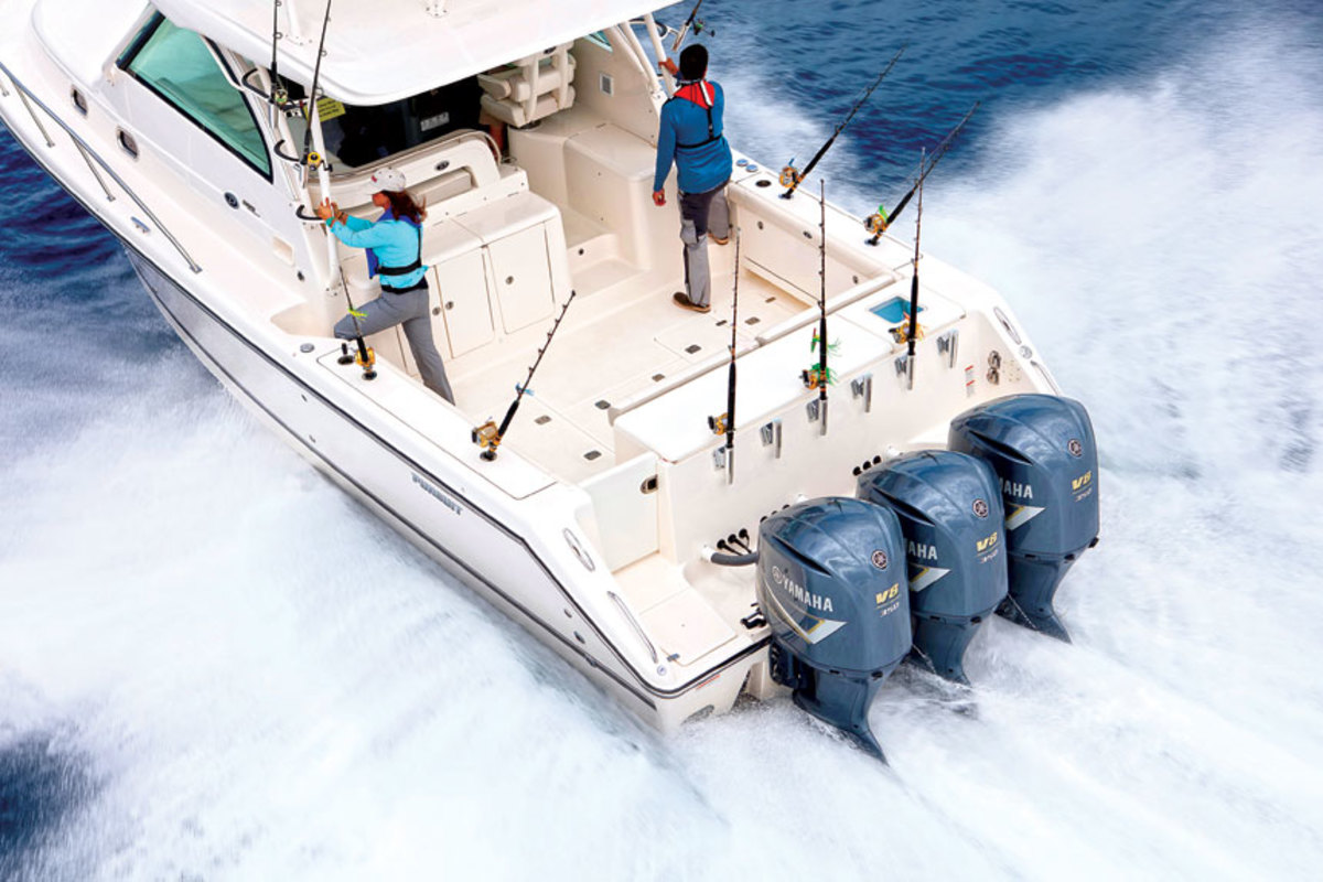 Yamaha's big outboards have been the choice of offshore anglers for years.