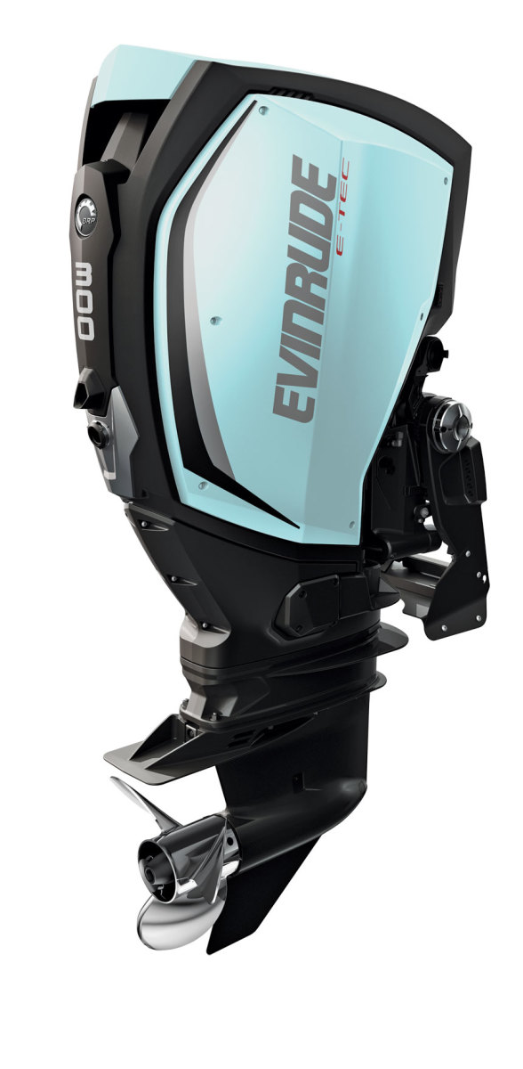 Evinrude offers more colors in its E-TEC G2 series to customize a motor's appearance than any other manufacturer.