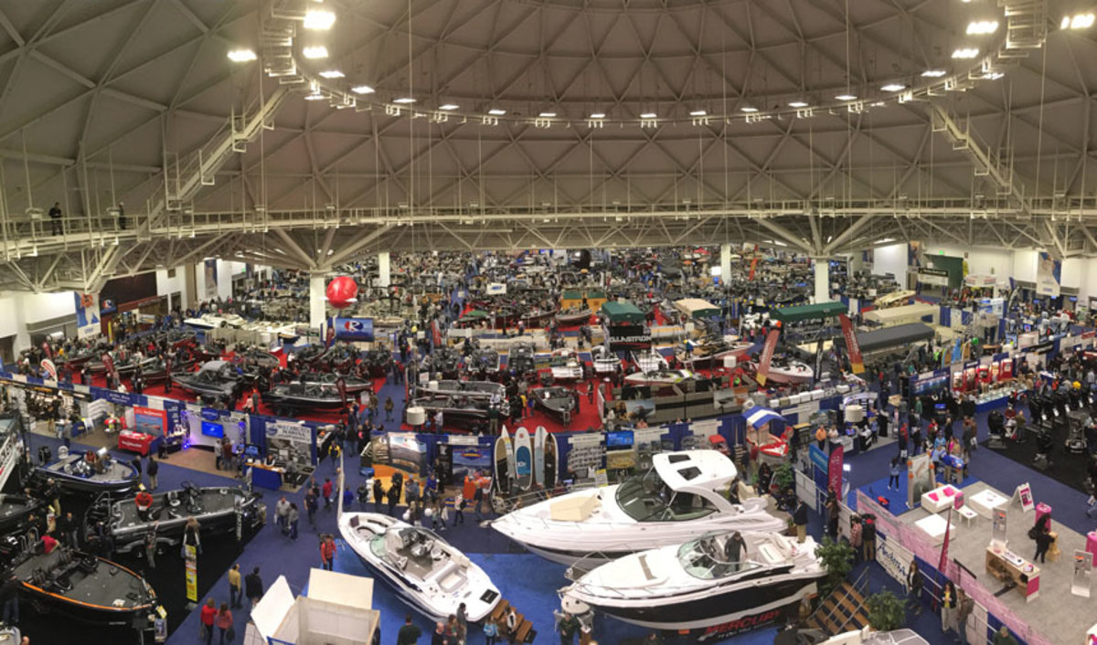 The NMMA said dealers at the Minneapolis Boat Show reported solid sales and quality leads. Lower overall attendance was attributed to the Minnesota Vikings' home NFL playoff game on Sunday.