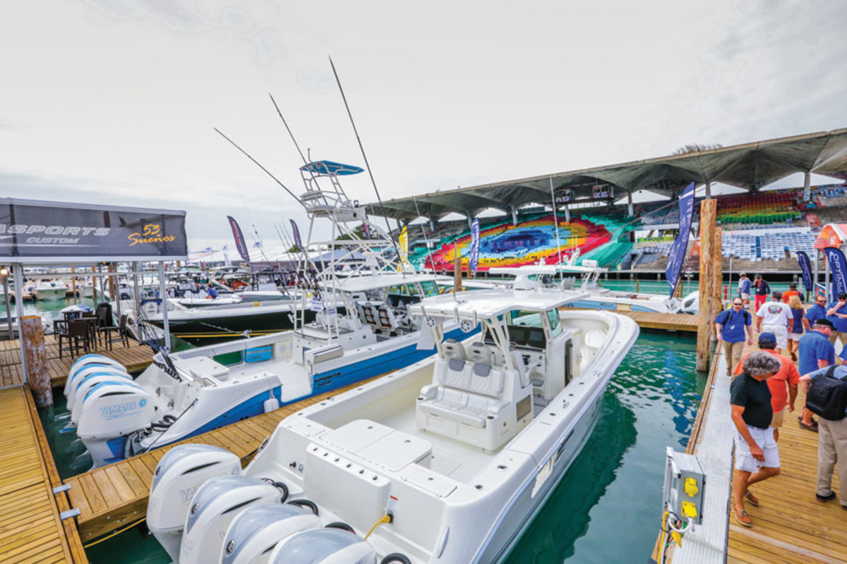 There will be 700 boats in the water and another 700 on land at this year's show.