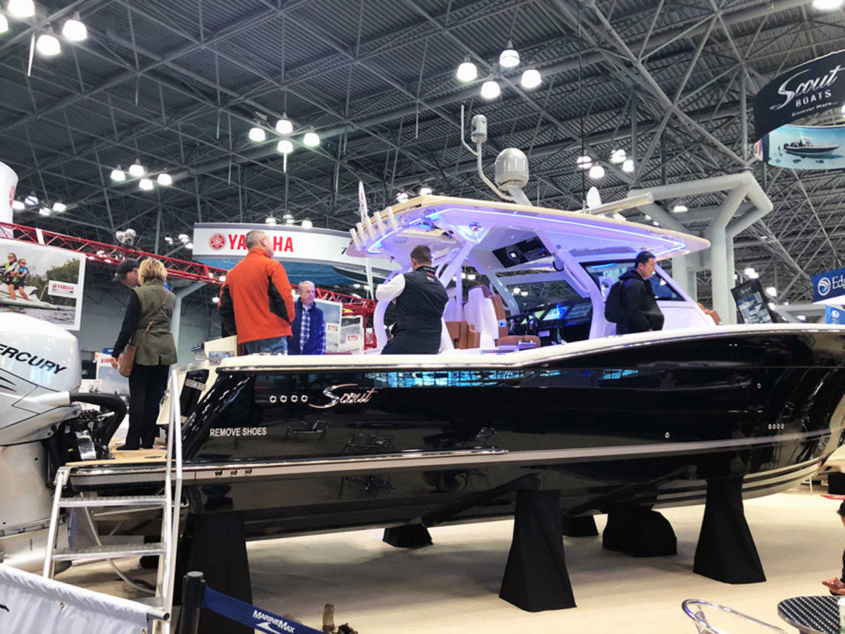The Progressive New York International Boat Show opened Wednesday and it continues through Sunday at the Javits Center in Manhattan.
