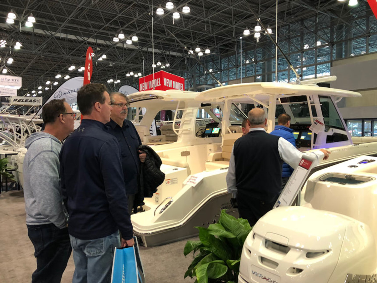 The 113th Progressive New York International Boat Show wrapped up Sunday at the Jacob K. Javits Center in Manhattan.