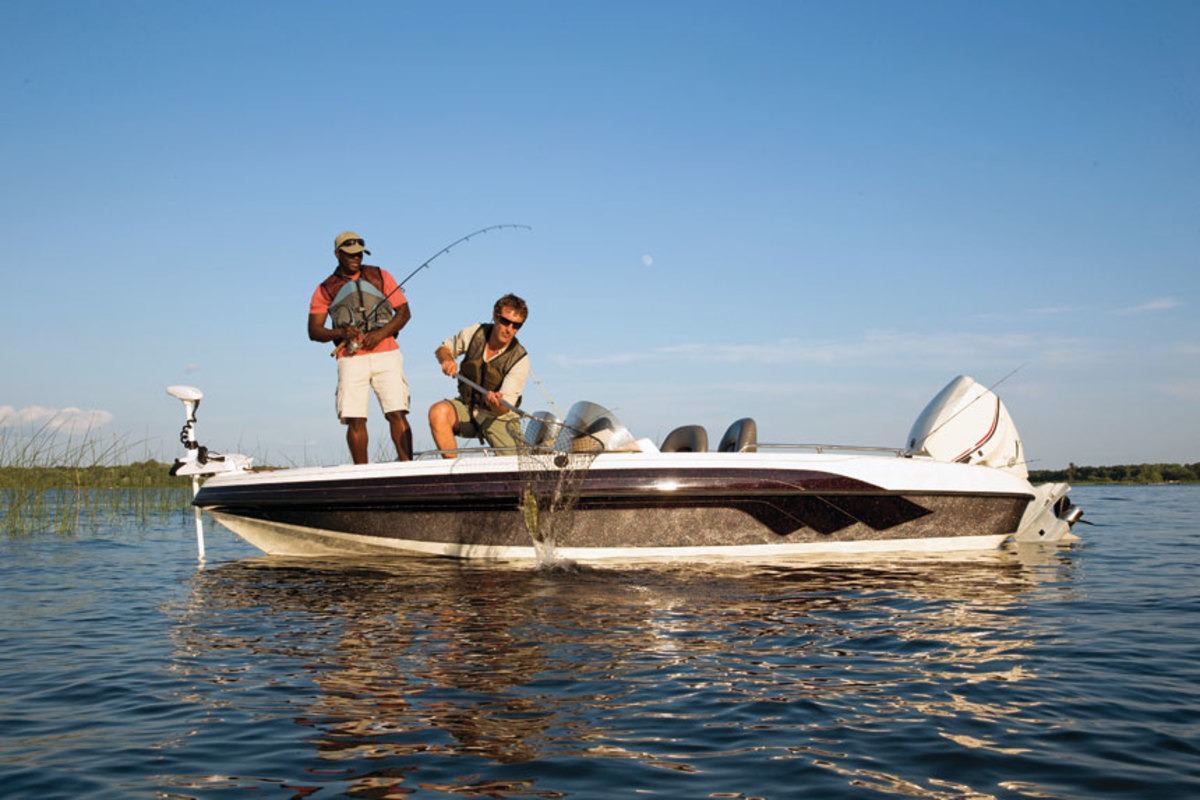 Fishing remains the number one activity for boaters.
