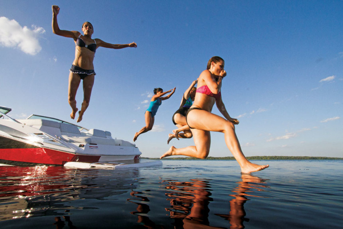 The study found that not as many people are jumping into boating as they did in the past.