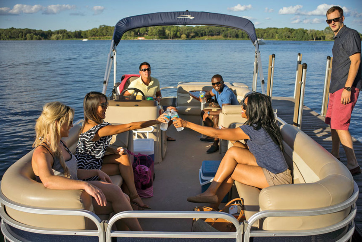 Because they appeal to families, pontoon boats remain popular.