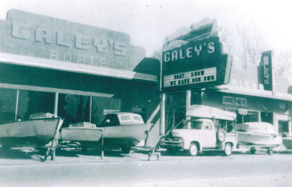 From its humble beginnings next to the family's appliance store, Galey's Marine grew into one of the premier dealerships on the West Coast.