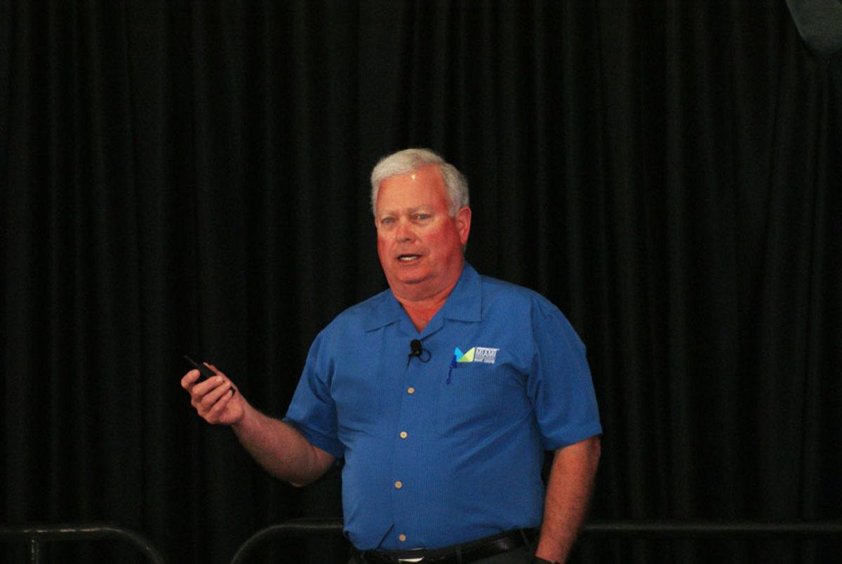 NMMA president Thom Dammrich