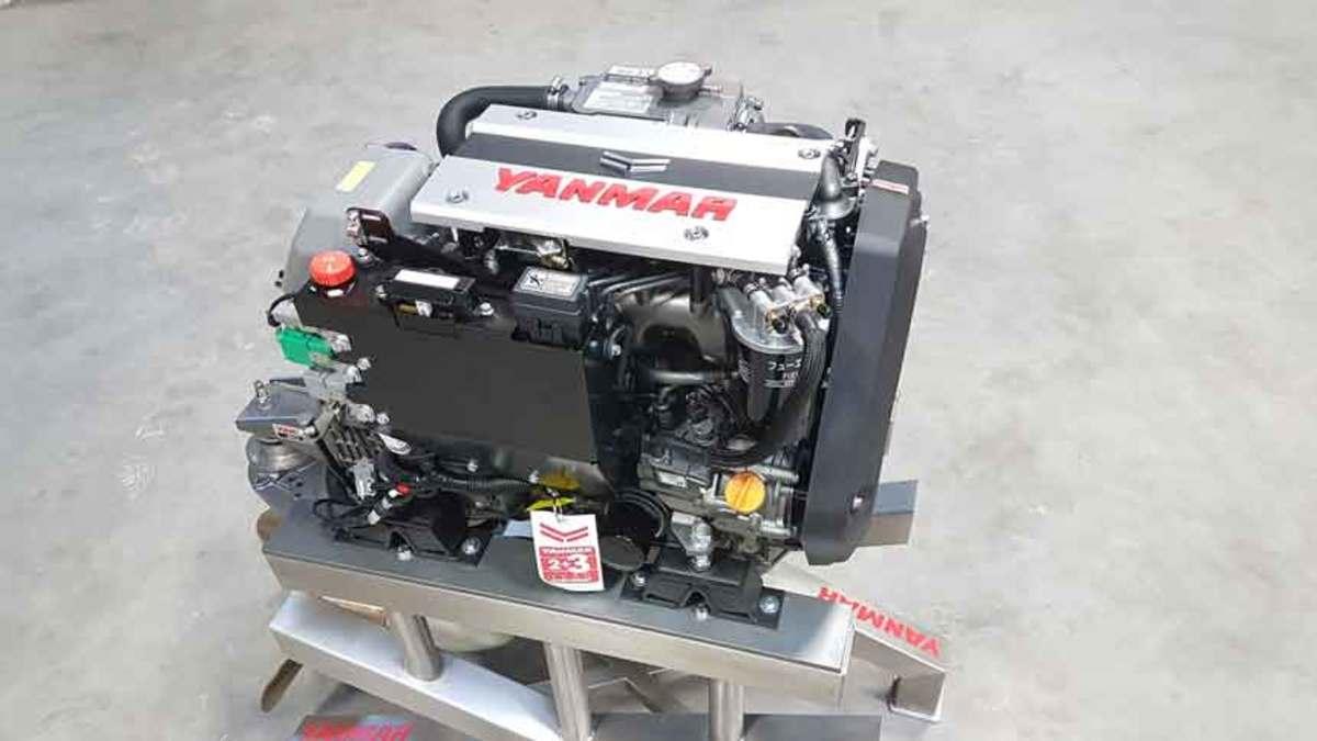 Yanmar's 3JH40 is the world's smallest marine diesel inboard