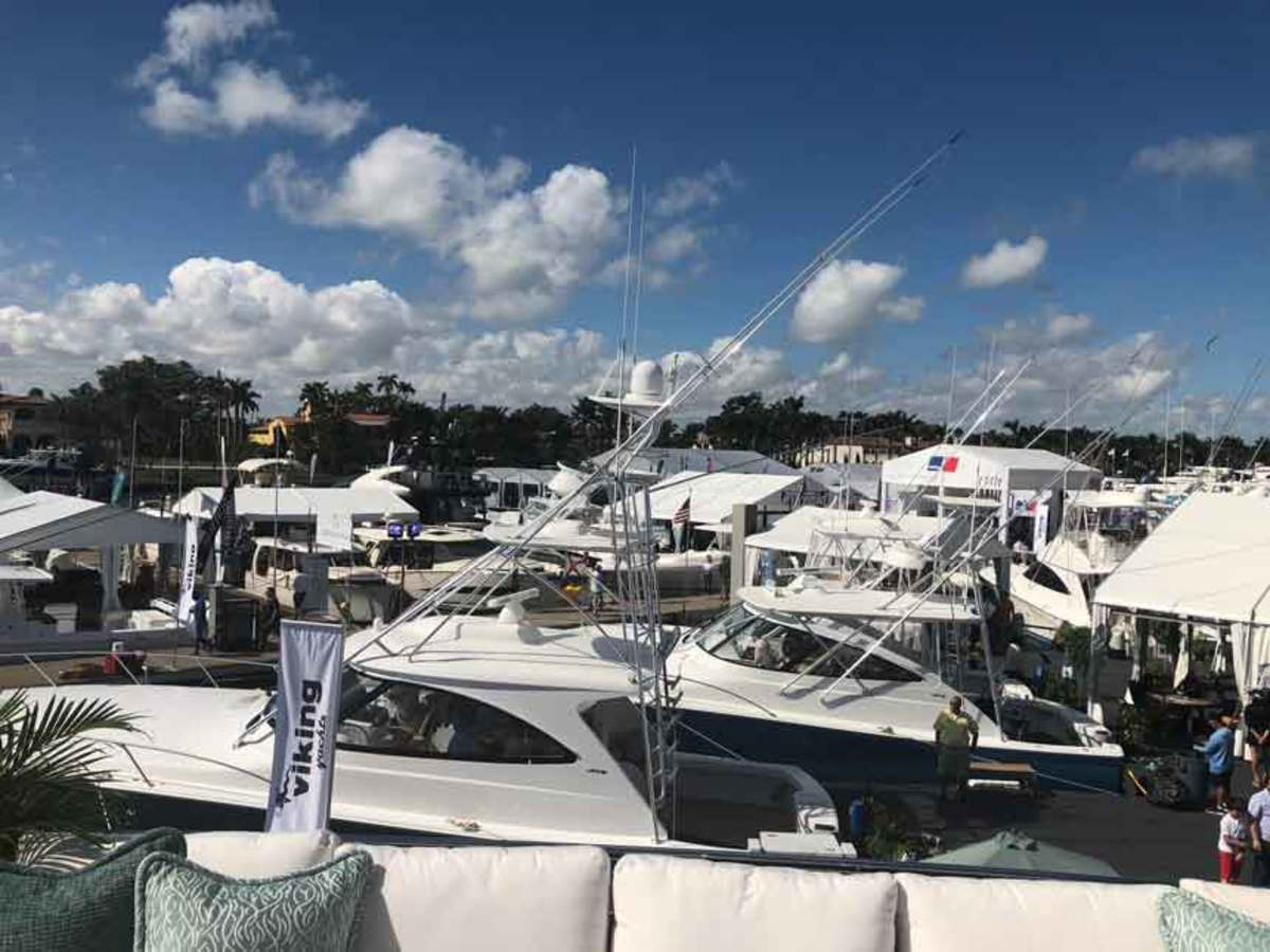 The Miami Yacht Show on Collins Avenue was in its last year at its current location.