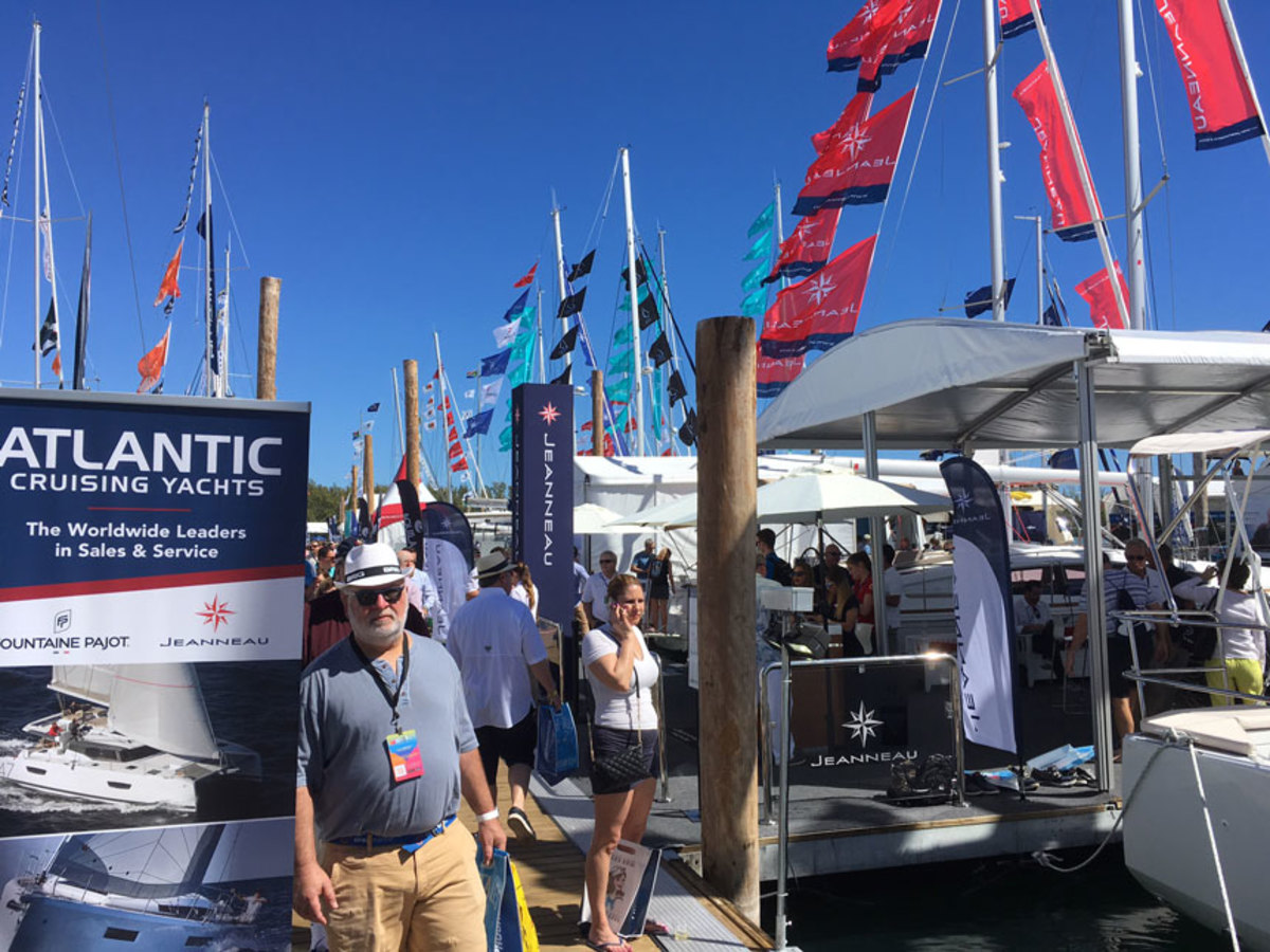 Visitor traffic at Strictly Sail was steady throughout the show's five days.