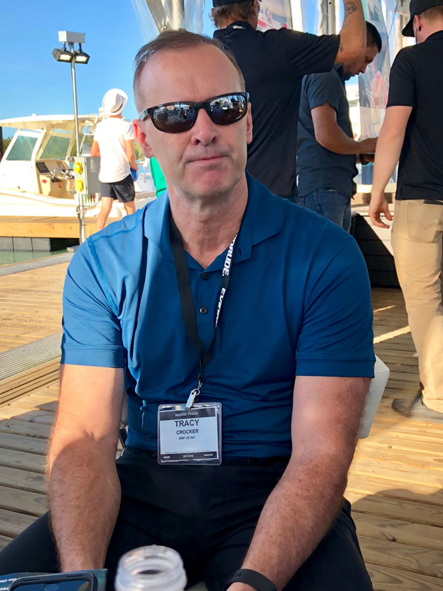 Evinrude senior vice-president and general manager sat down with Trade Only Today at the Miami International Boat Show last week.