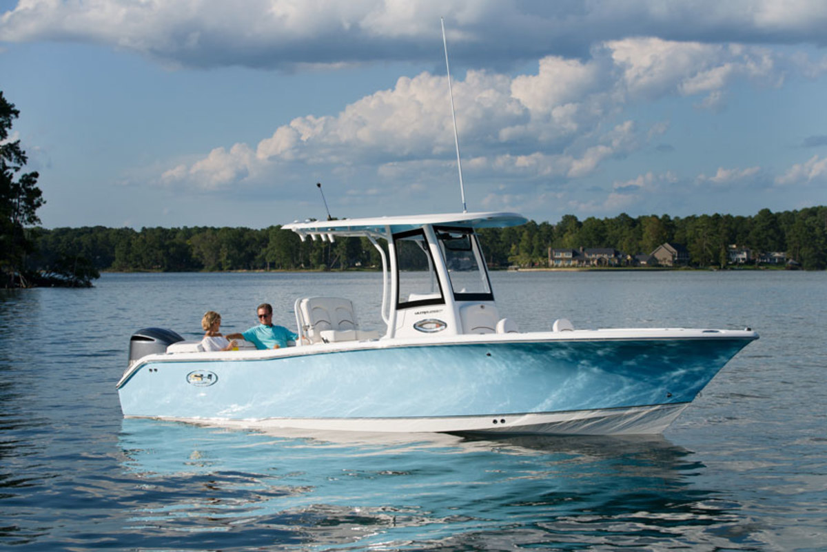Sea Hunt will outfit boats ranging from 18 to 30 feet with Garmin electronics.