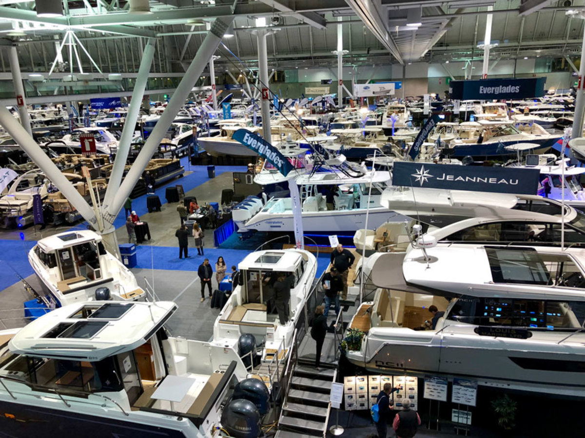 The New England Boat Show had record attendance.