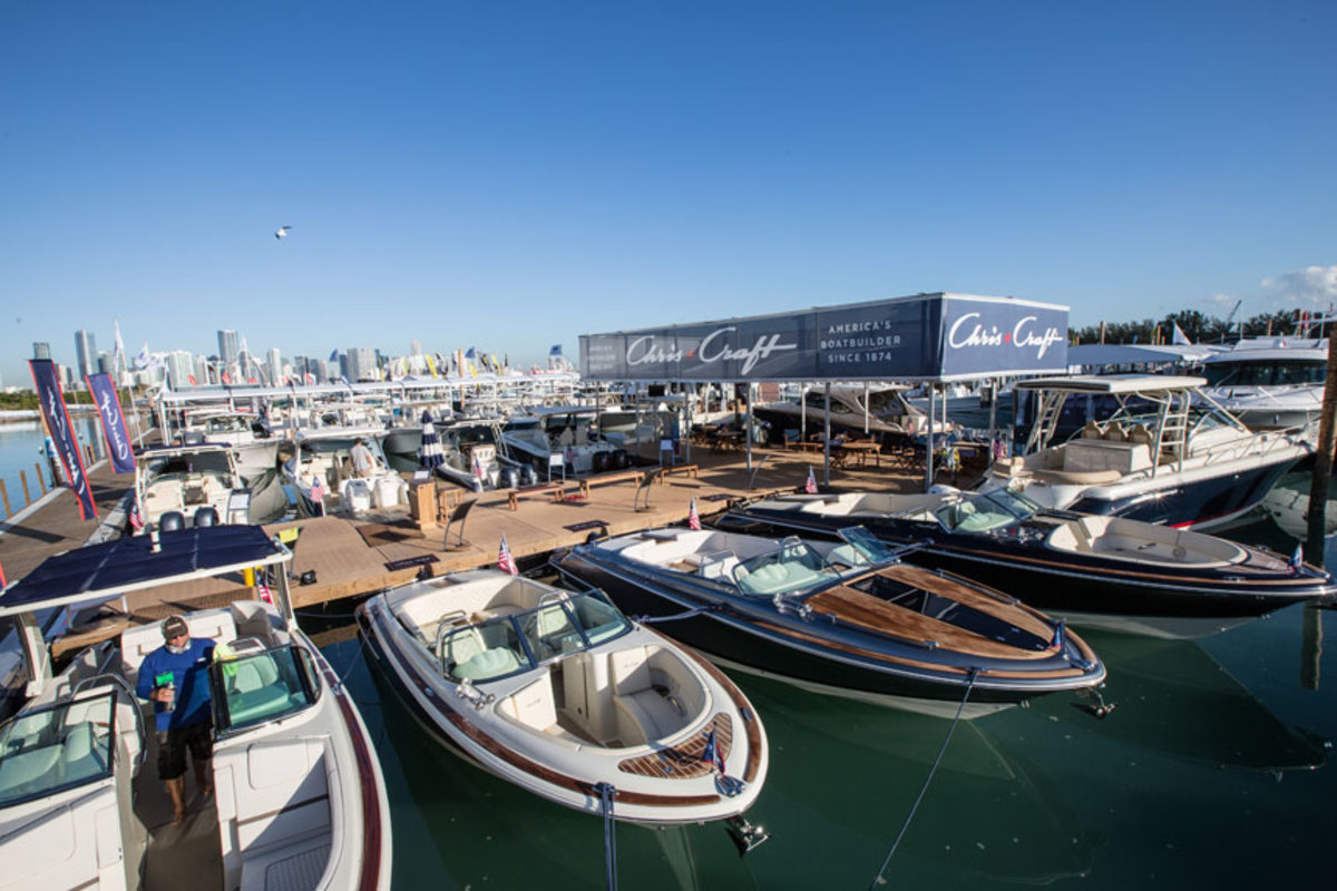 The docks were full and the weather couldn't have been better at the 2018 edition of MIBS.