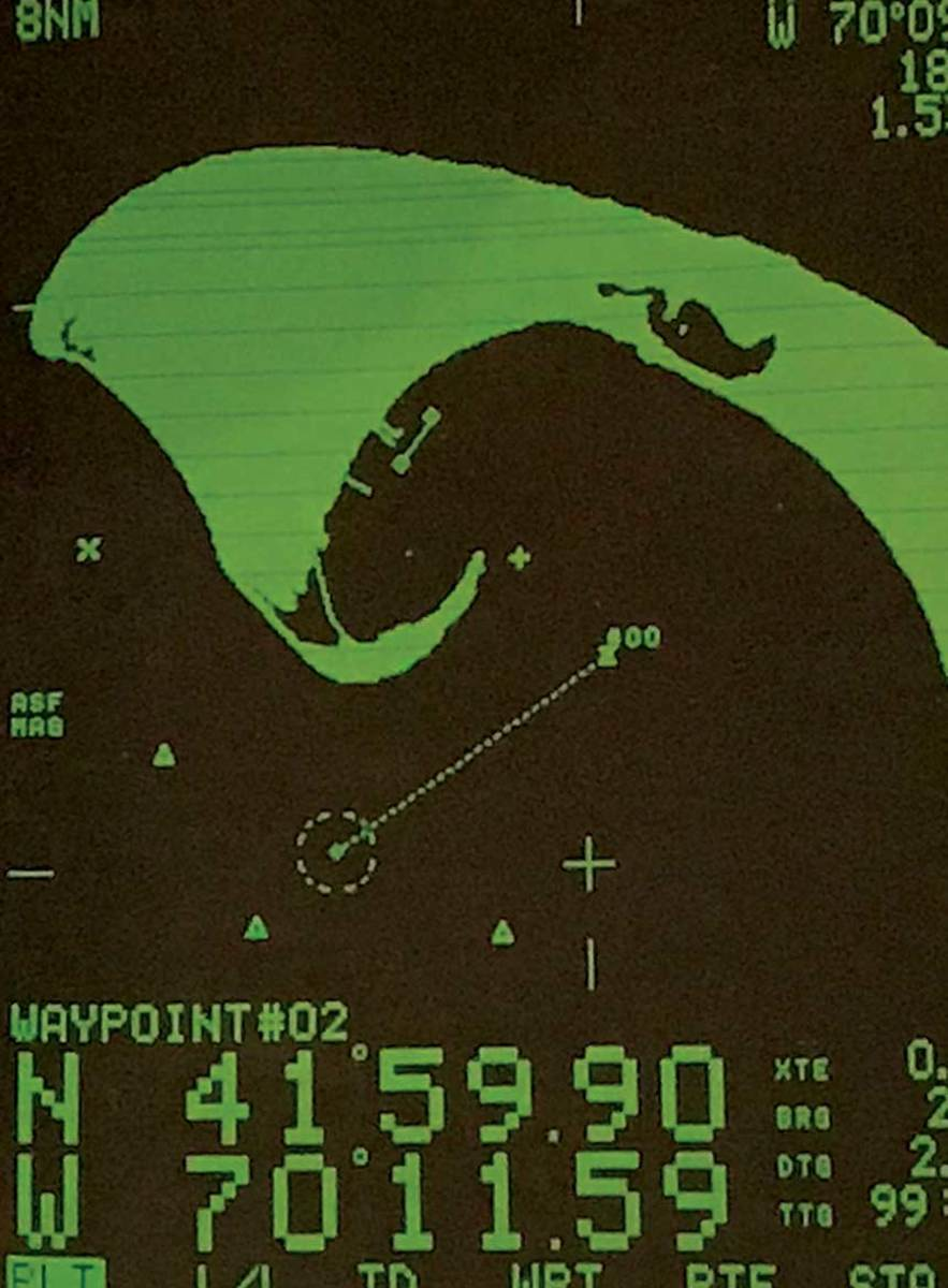 The Rayplot raster scan plotter by Raytheon Marine from 1988 was state of the art.