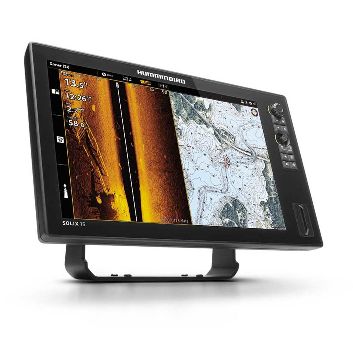 Humminbird is a leader in designing multifunction systems with simultaneous plotter and side-scan sonar functions.