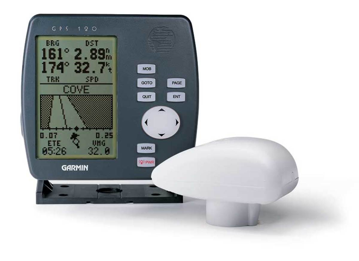 The GPS 120 was the first fixed-mount device from Garmin, launched in 1995.