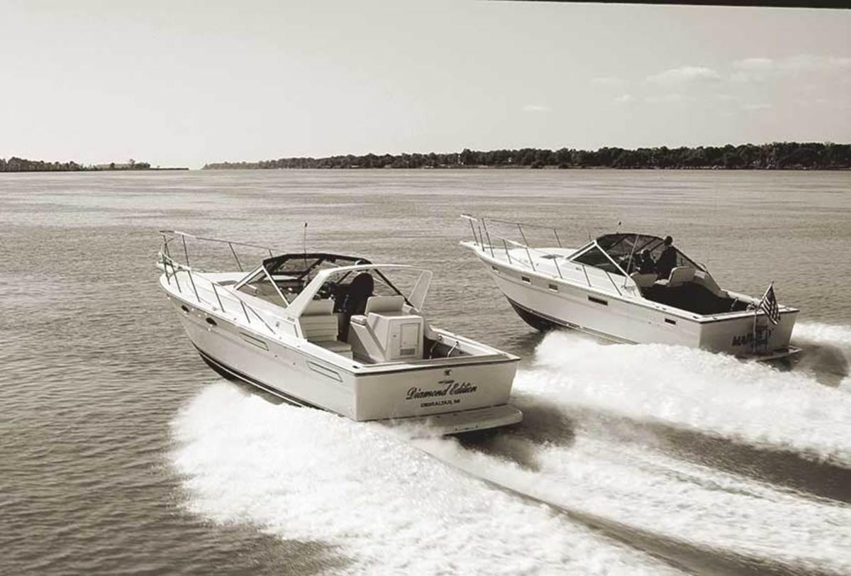 The Tiara 31 had a 12-year production run with more than 1,000 hulls built.