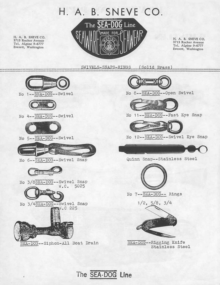 Early hardware and accessories