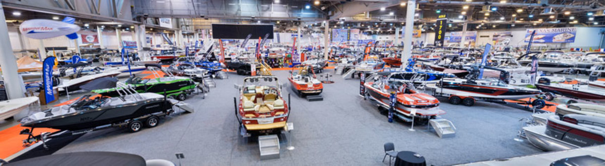 A variety of boats will be on display at the five-day show.