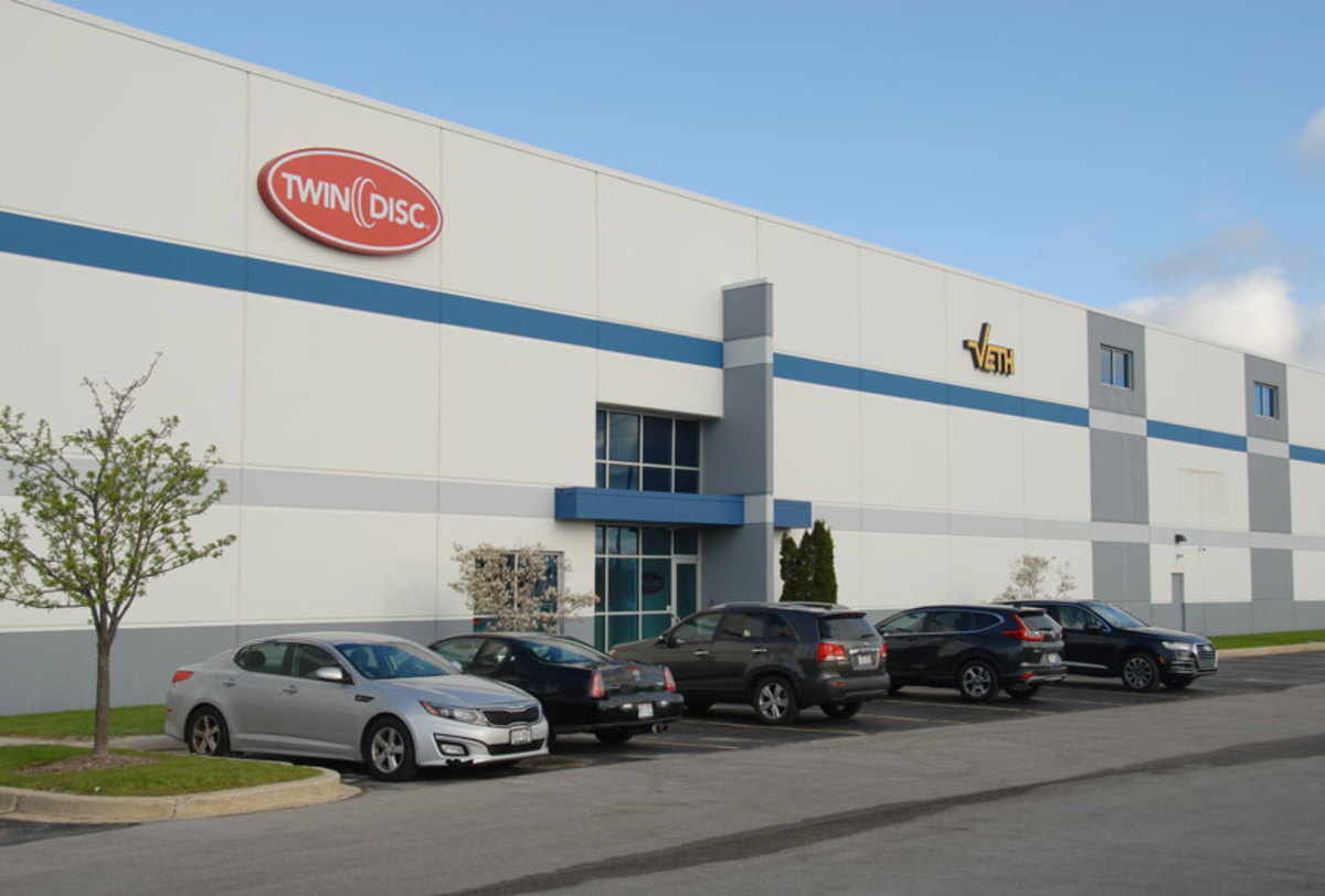 Twin Disc expects the new facility to be at full capacity by early June.