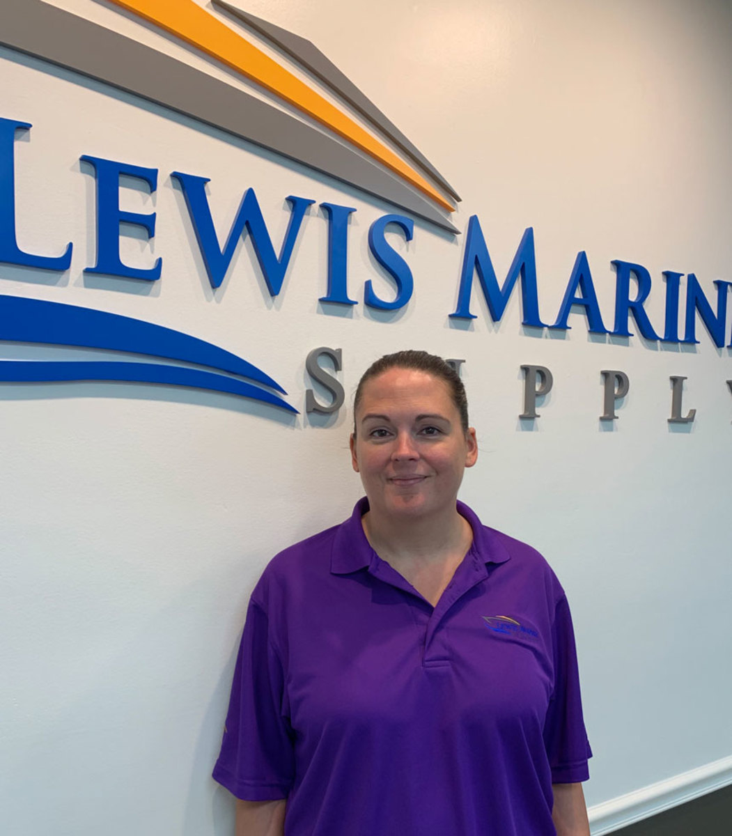 Chelsea Beyer, President, Lewis Marine Supply