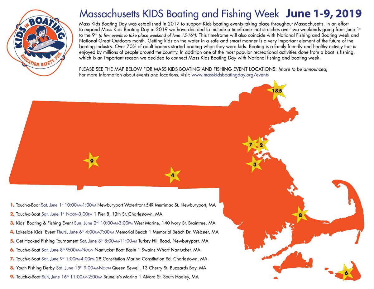 A map of Mass Kids events next week.