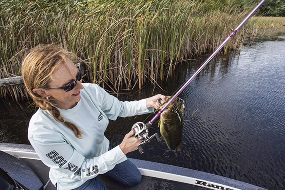 fishing award- photo courtesey St. Croix Rods
