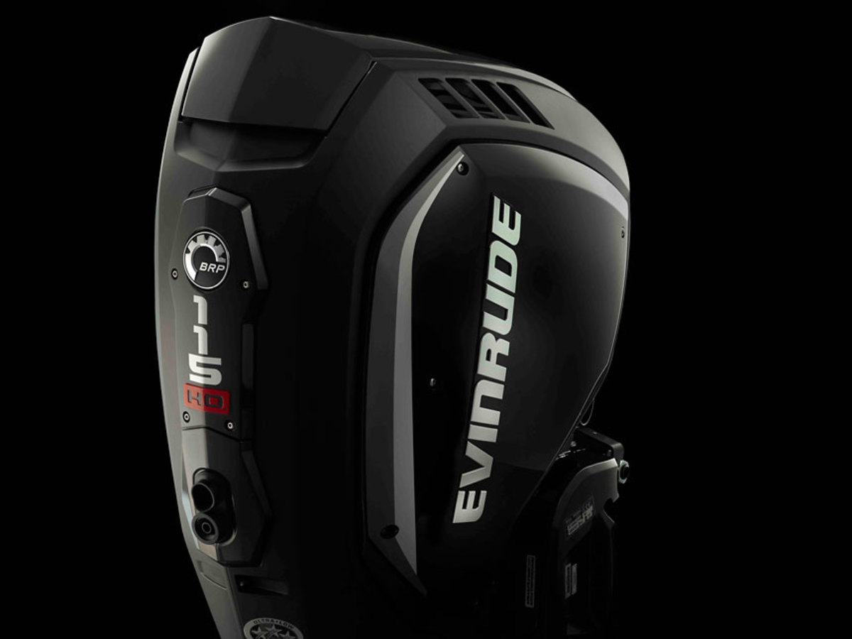 The 115 HO is one of three new Evinrude outboards for the 2020 model year.