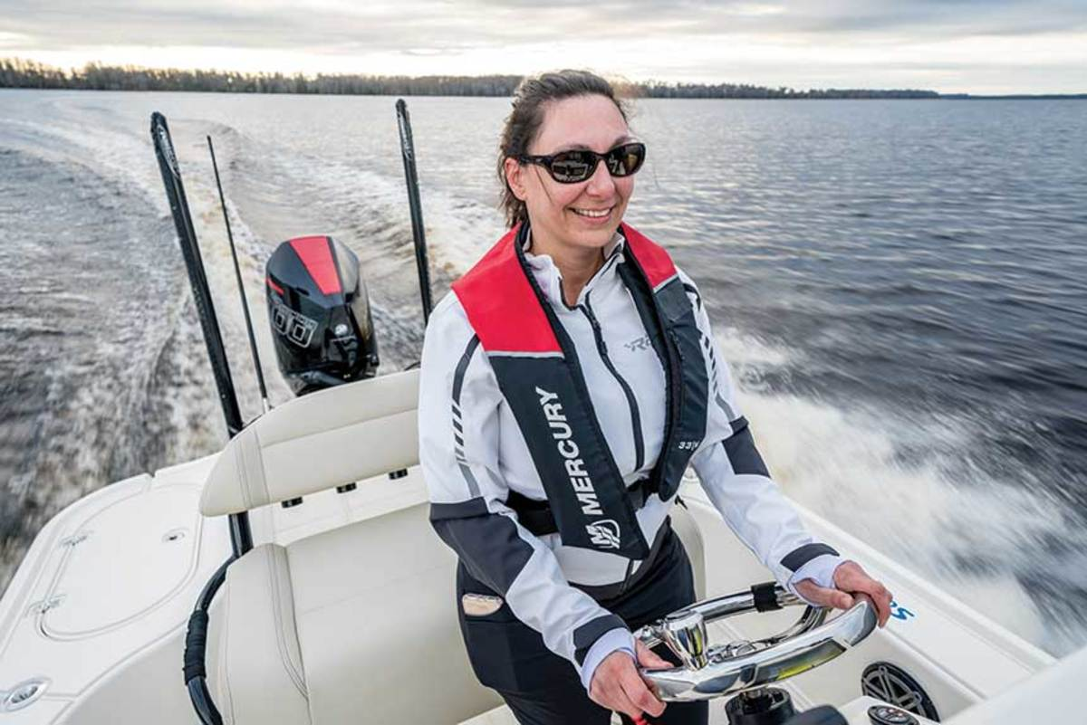 Only 13 percent of primary boat registrants are women.