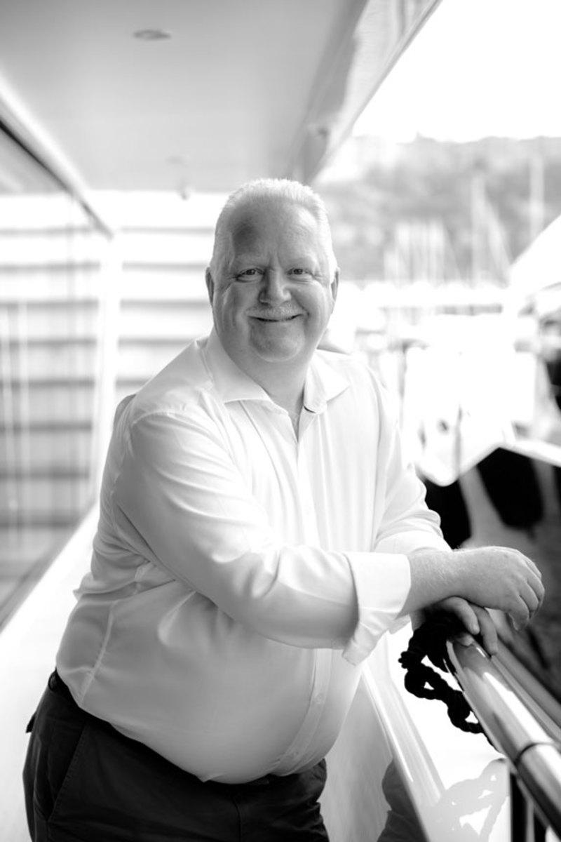 Chris Gates, managing director at Princess Yachts