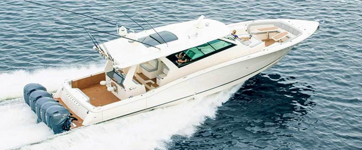 Engines account for 35 to 40 percent of a new boat's cost  (Scout 530 LFX pictured).