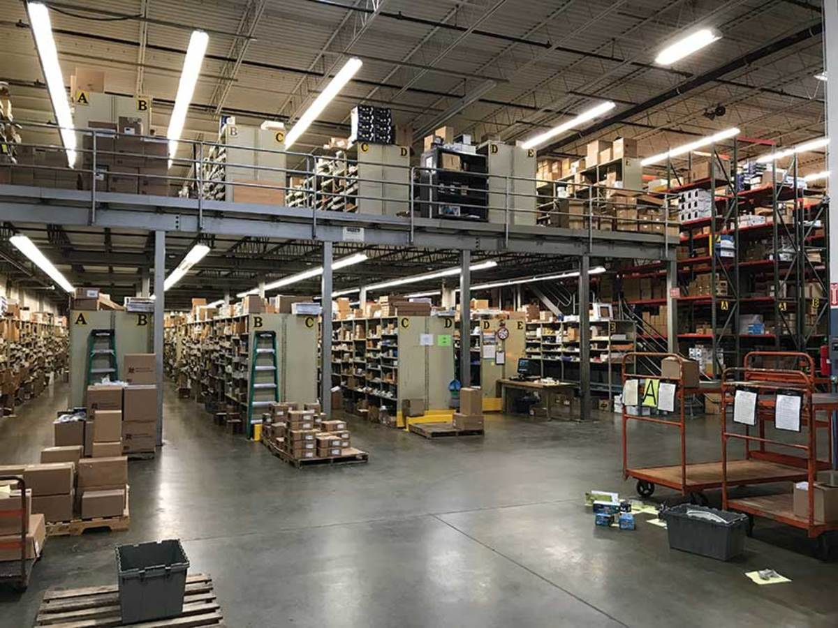 Distributors now need to be well capitalized to keep warehouses full of products for just-in-time delivery.