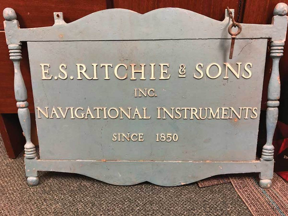 Ritchie was the world's first marine compass manufacturer.  The Sherman family acquired it in 1951.