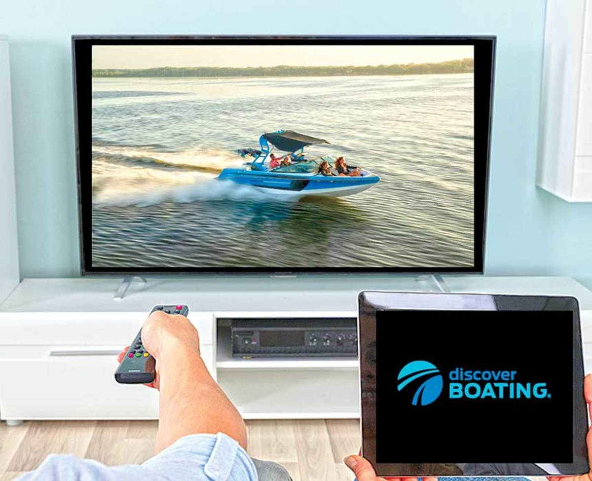 Connected television lets Discover Boating reach  potential owners in new ways.