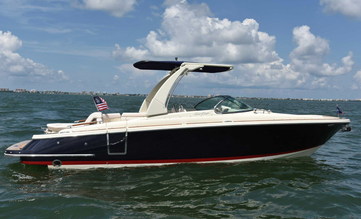 Chris-Craft has introduced several models in the past year.