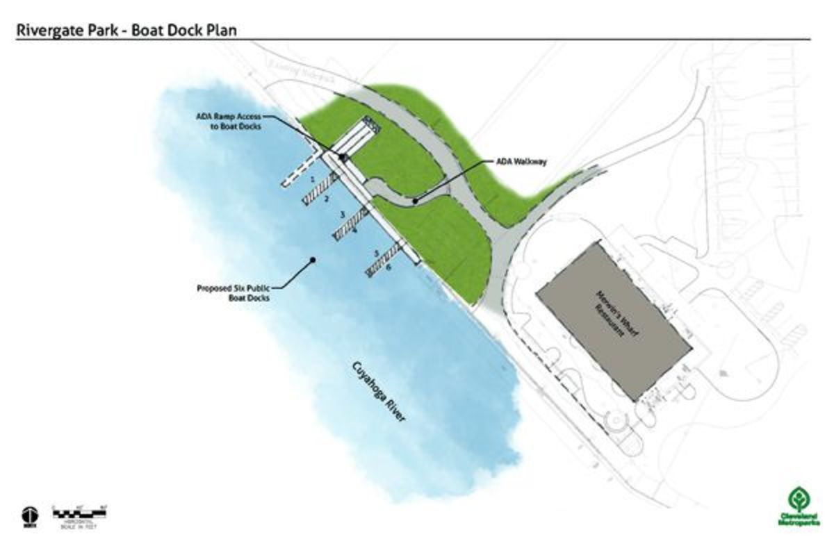 The project will provide day-use slips for boaters.