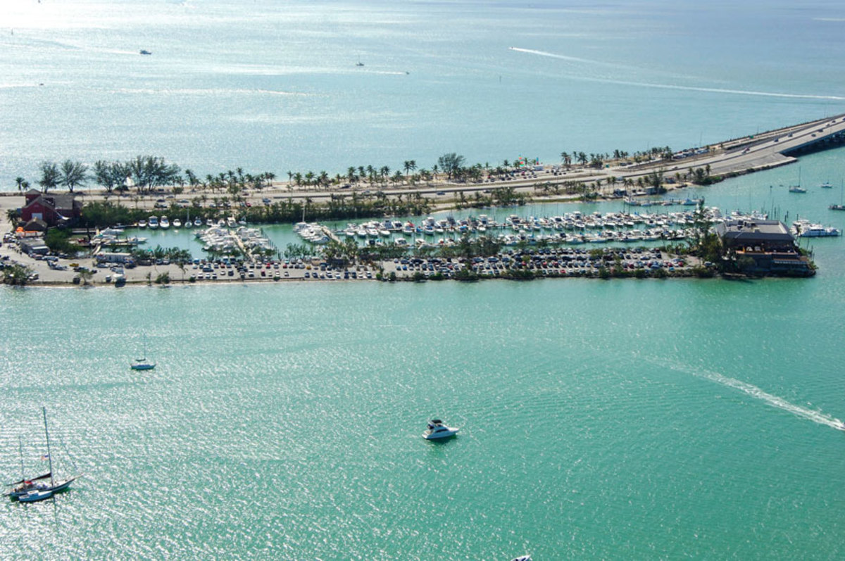 Rickenbacker Marina is adjacent to the site of the Miami International Boat Show on Virginia Key.