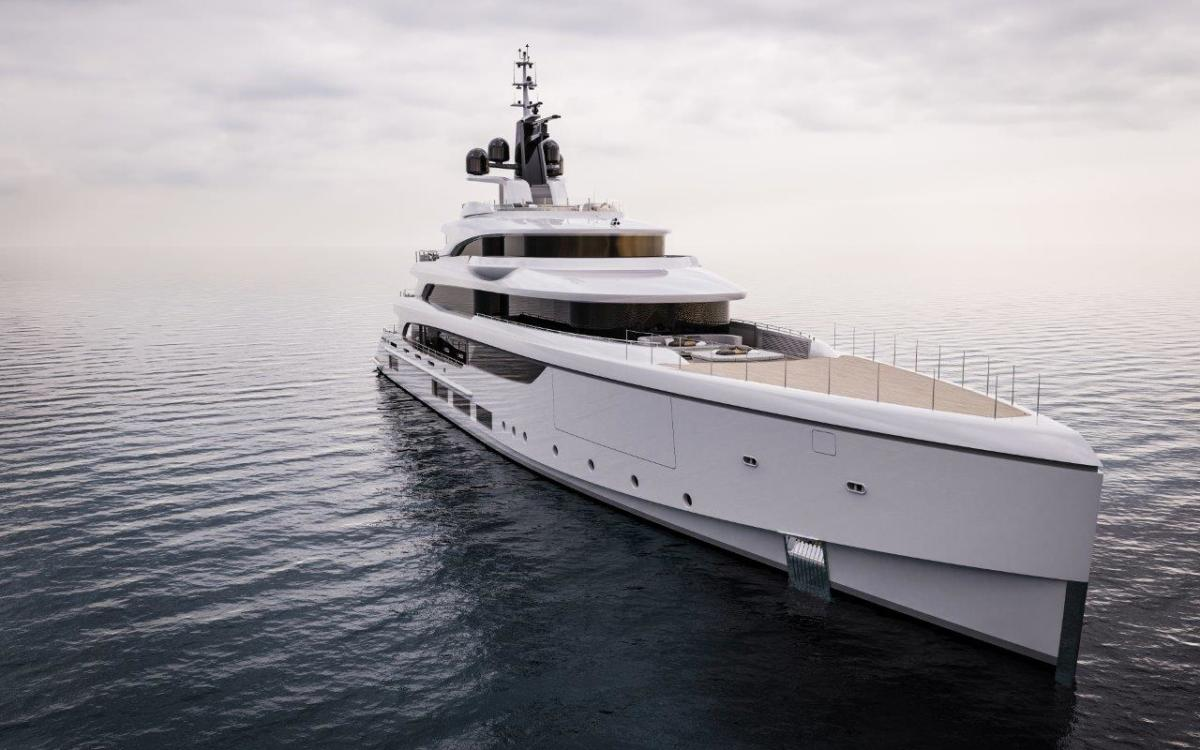 The 213-foot Benetti FB270 will be manufactured to Chinese standards.