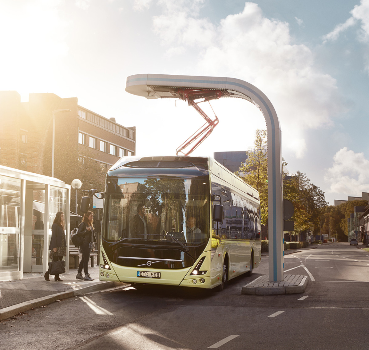The study will assess if electric charging technology used on Volvo electric buses could be used on the water.