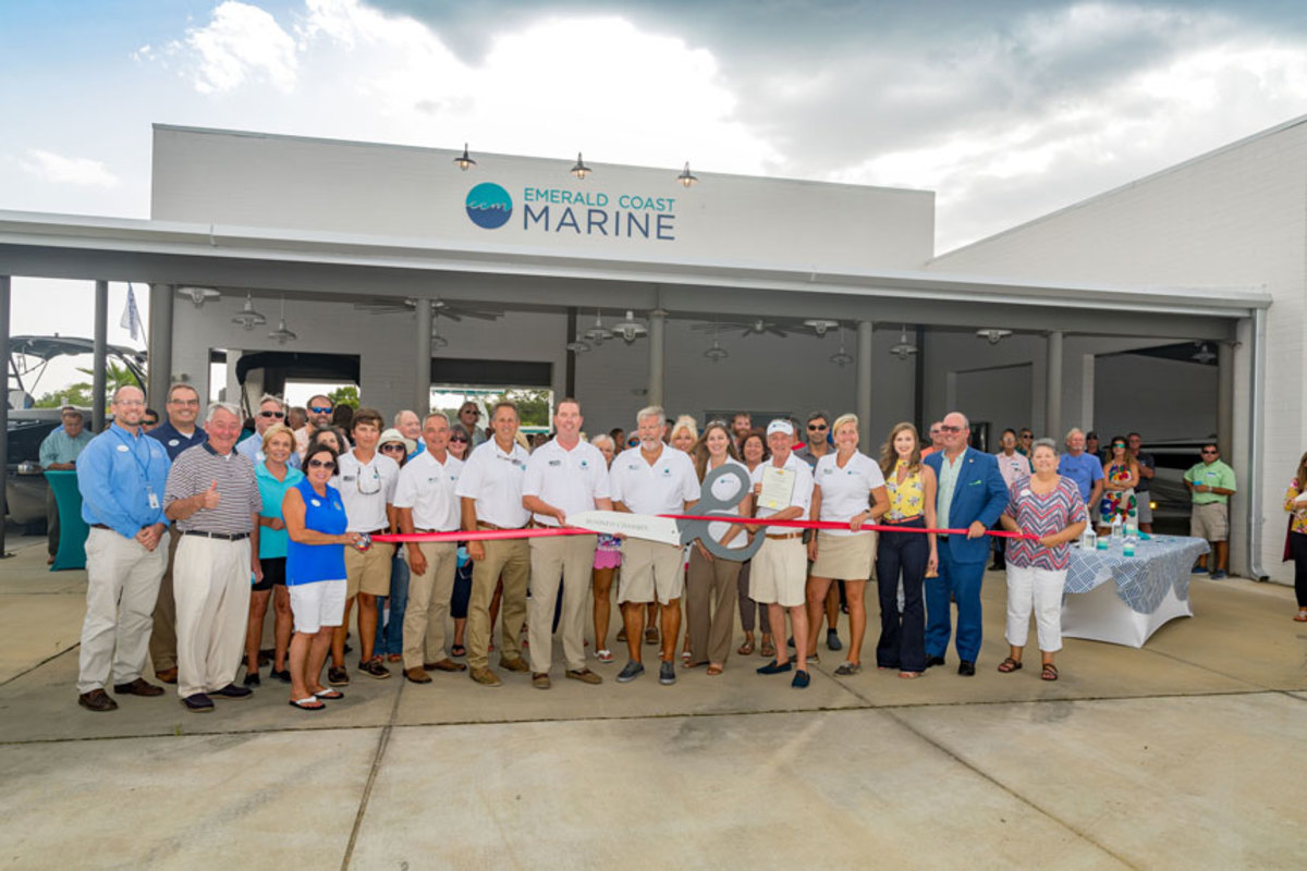 The 6,000-square-foot facility is Emerald Coast's second location in Orange Beach. The opening included dealer personnel and local dignitaries.