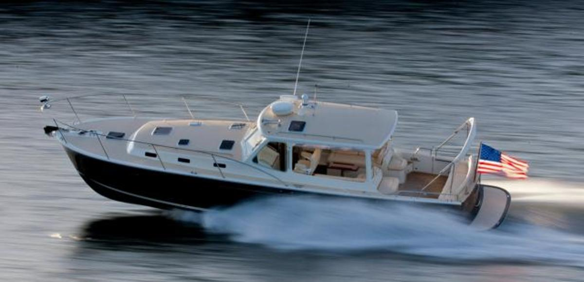 MJM Yachts combine Down East styling and high-tech construction.
