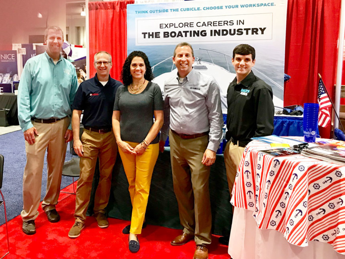 Industry executives promote boating as a strong career choice.