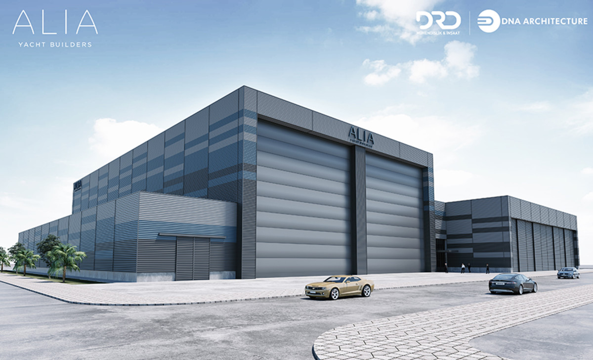The new Alia factory will be finished this month.