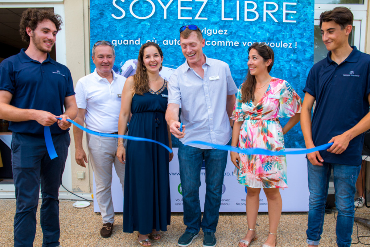 Two new Freedom Boat Club franchises in France celebrated the club's official entry into the European market.