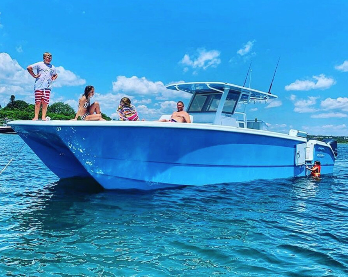 The catamaran models will be a big part of the company's strategy moving forward.