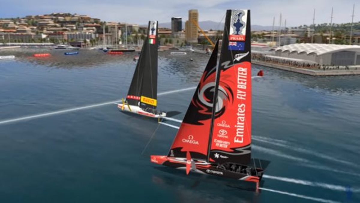 The AC75 Class foiling monohulls will make their competition debut next year in Sardinia.